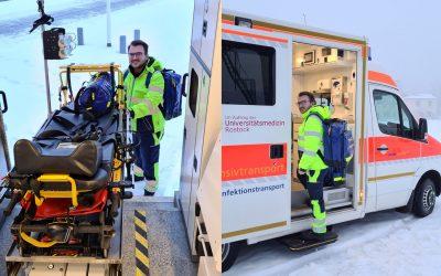 Intensiv- und Krankentransport: Interview mit Rettungssanitäter Jens