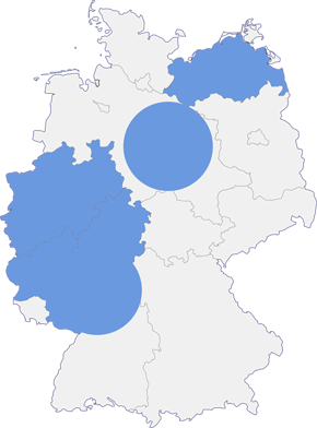 CC BY-SA 2.0 de https://commons.wikimedia.org/wiki/File:Karte_Deutschland.svg#/media/File:Karte_Deutschland.svg