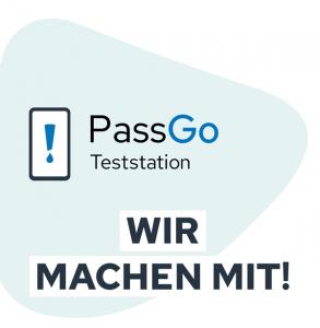 PassGo Teststation Wolfsburg Wir machen mit!